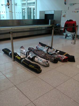 """аэропорт Мюнхена """"багаж ждет хозяев"""""""